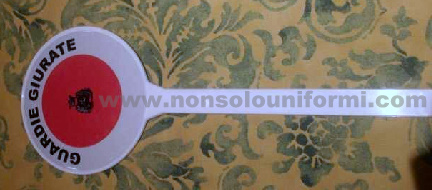 Paletta in PVC Guardie Giurate