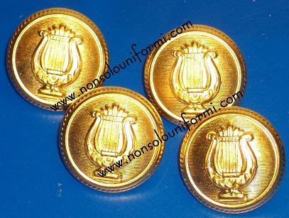 Per Con Cetra bottoni 4 Giacca Bottoni Bottoni conf Oro 5gqwF