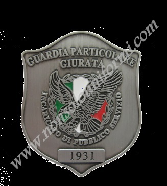 ۞ GUARDIE GIURATE-IPS